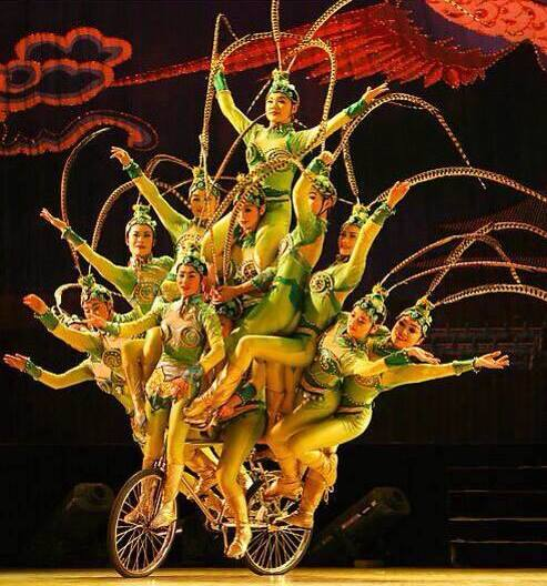 Chaoyang Theatre Acrobatic Show Beijing