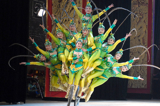 Chaoyang Theatre Acrobatic Show
