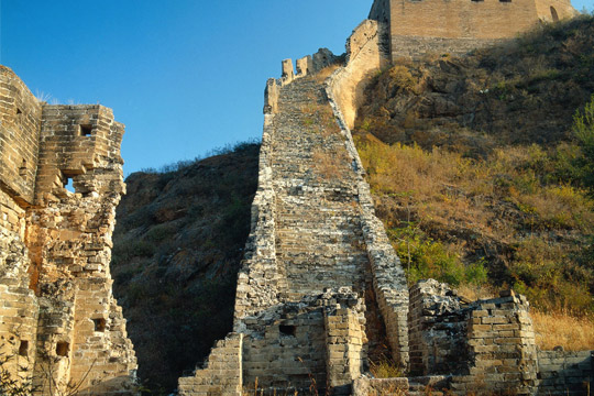 Great Wall Jinshanling to Simatai Hiking Private Tour