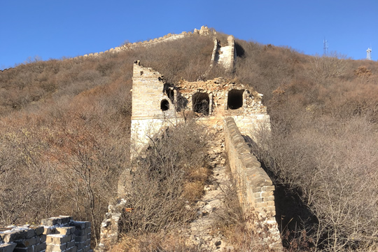 great wall jiankou to mutianyu hiking